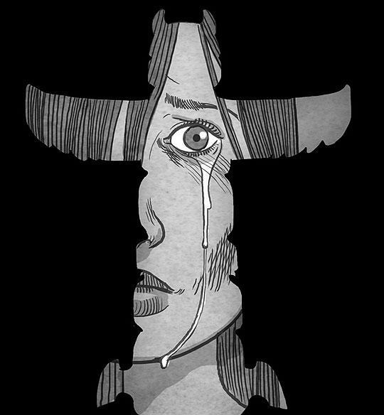 Ilustración conceptual de KOREN SHADMI.