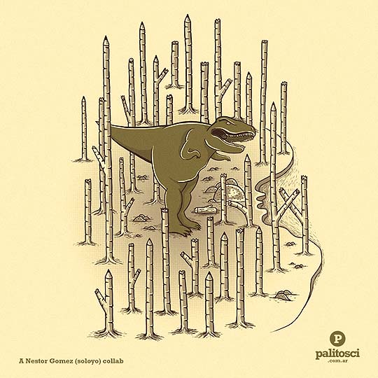 Ilustración de LUCAS SCIALABBA Aka PALITOSCI