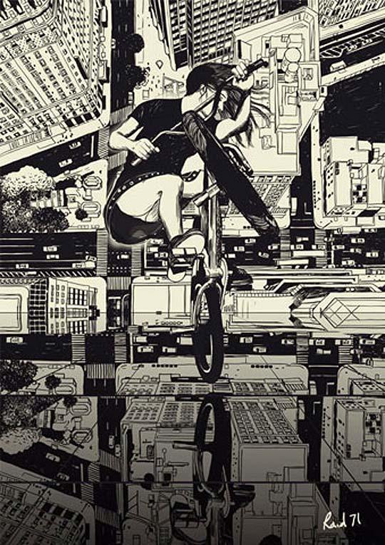Ilustración de Raid71 Aka CHRIS THORNLEY