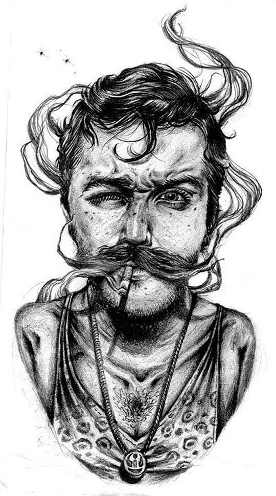 Ilustración de SANTIAGO GARCÍA Aka POSHO