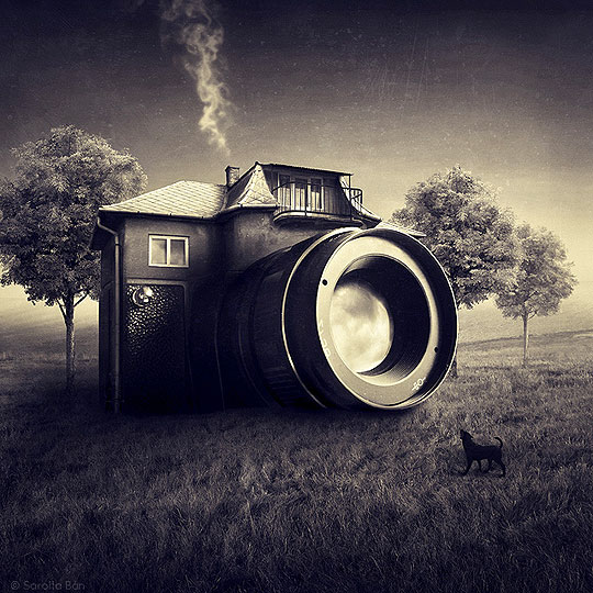 Manipulación fotográfica y surrealismo de BAN SAROLTA.