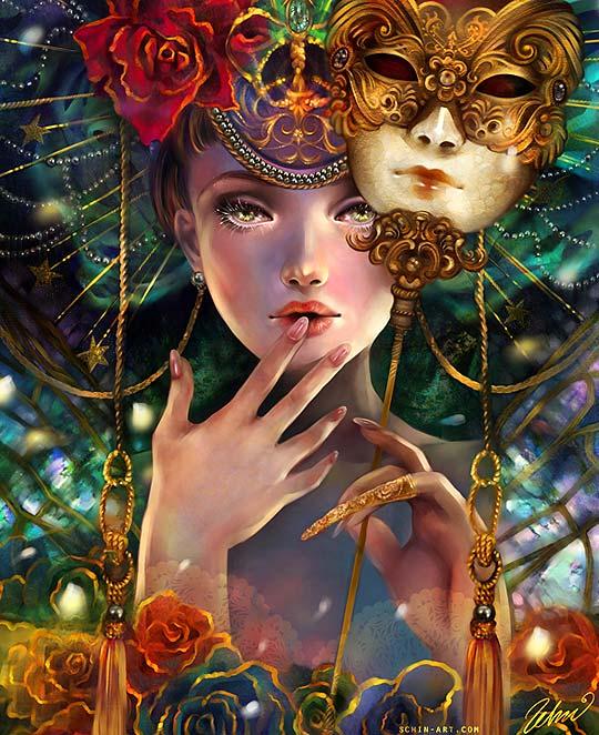 Ilustración de SCHIN LOONG Aka Luciole