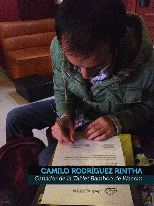 Ilustración de CAMILO RODRÍGUEZ RINTHA