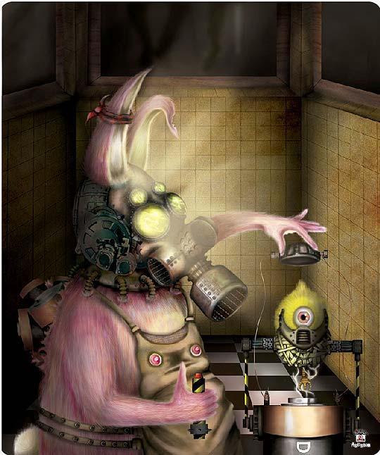 Ilustración de IVÁN ESPINEL Aka Asesino
