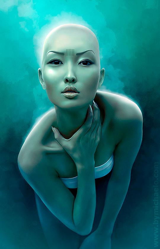 Arte digital, retoque e ilustración de  MICHAEL OSWALD Aka MICHAELO.