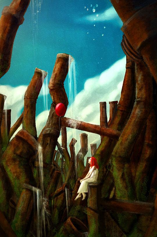 Comic. Wichblade de ANDRES RIVILLAS LOUIS Aka NECROMI.