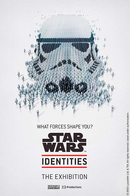 Posters. Star Wars Identities por Bleublancrouge