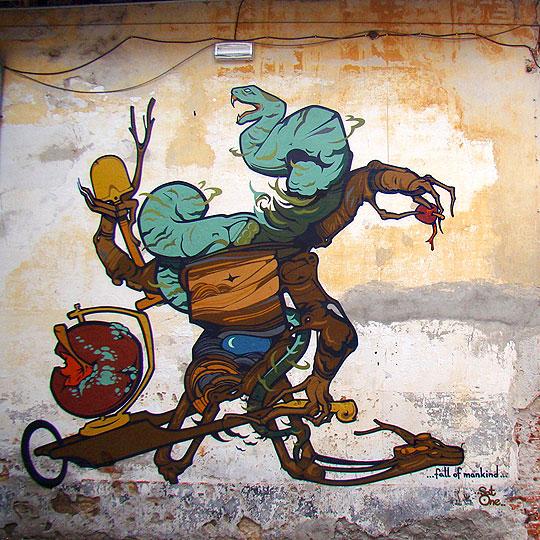Pintura y Street Art de RAFAEL GERLACH  Aka SATONE.
