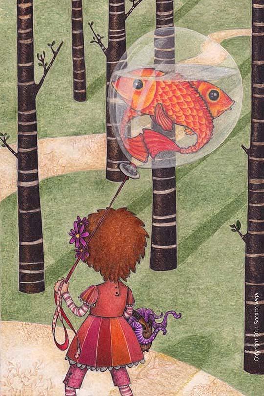Ilustración de SOCORRO VEGA Aka MORAZZUL