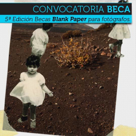 5ª Edición Becas Blank Paper para fotógrafos.