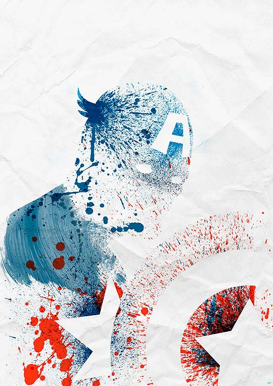 Posters. Personajes del comic y el cine por ARIAN NOVEIR