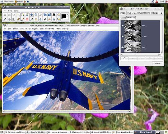 Software libre para diseñadores - Cinepaint