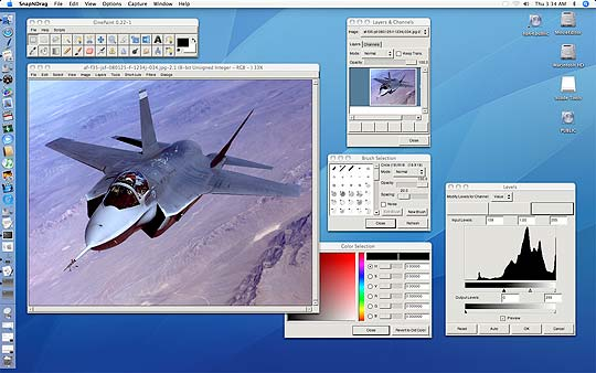 Software libre para diseñadores Cinepaint