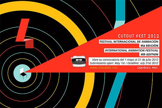 CUTOUT FEST 2012. Festival internacional de animación.