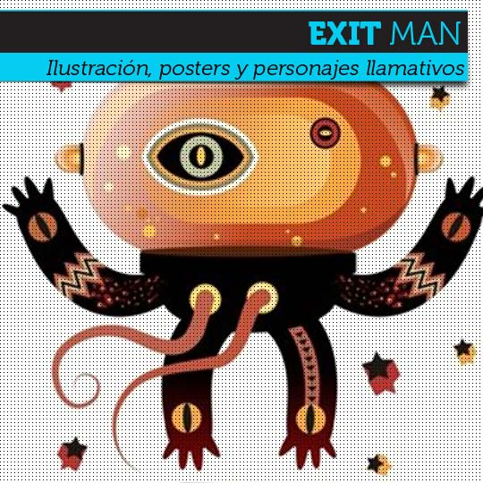 Ilustración de EXIT MAN