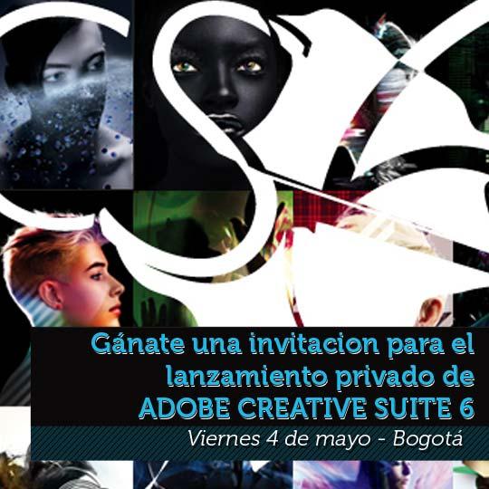 Asiste al lanzamiento de Creative Suite 6 en Bogotá.