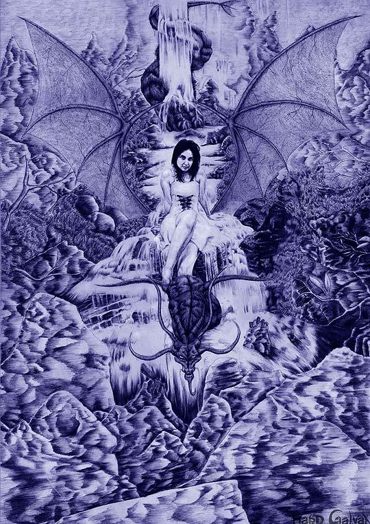 Ilustración de HARVEY GALVAN