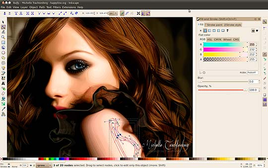Software libre para diseñadores - Inkscape