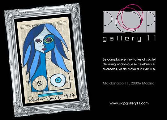 Exposición. La pintura neo-pop de ROMERO BRITTO en España