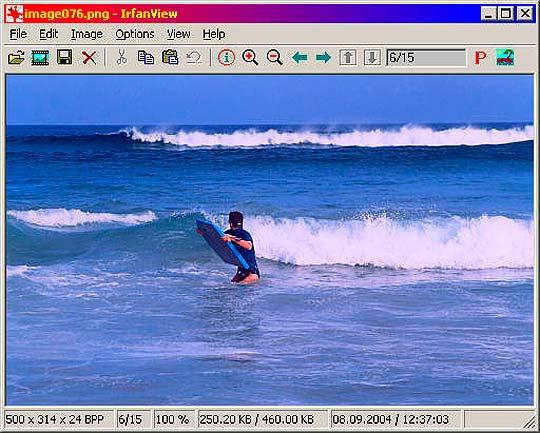 Software libre para diseñadores - Irfanview