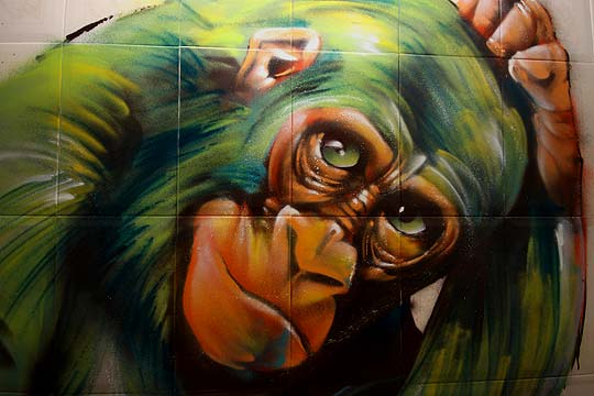 Arte urbano de JESUS MARTIN Aka LIMBO