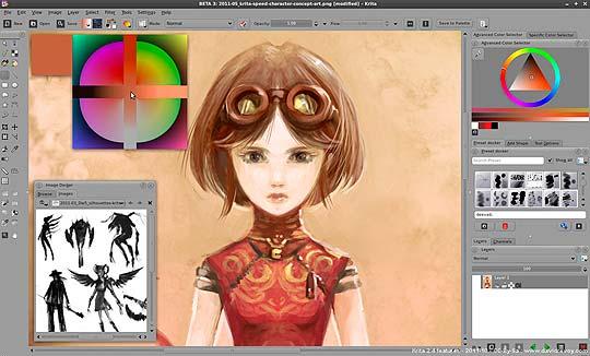 Software libre para diseñadores - Krita