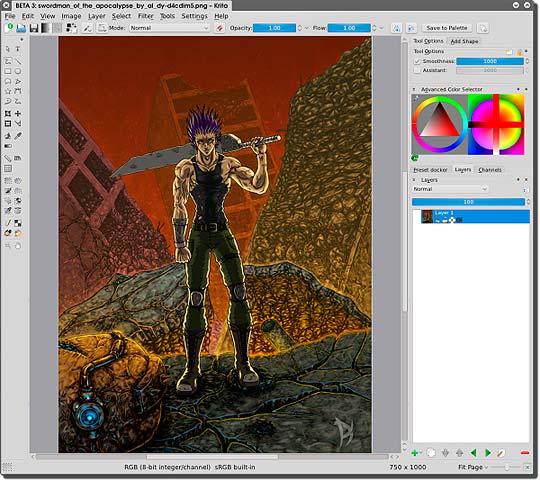Software libre para diseñadores- Krita