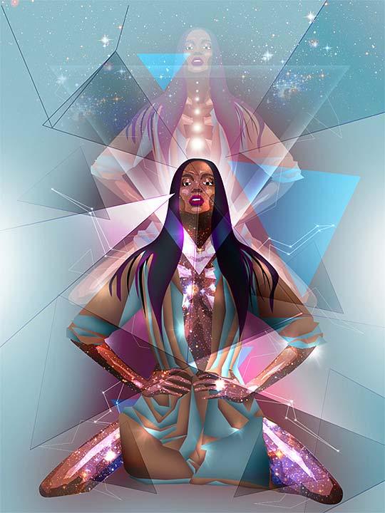 Diseño gráfico y arte digital de LUCA MOLNAR