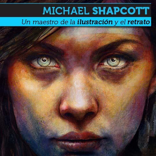 Ilustración y retrato de MICHAEL SHAPCOTT