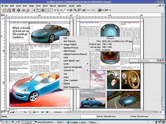 Software libre para diseñadores - scribus