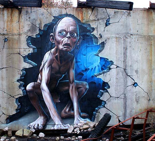 Arte urbano y realismo extremo de SMUG ONE
