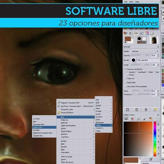 Software libre para diseñadores.
