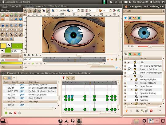 Software libre para diseñadores - Synfig Studio