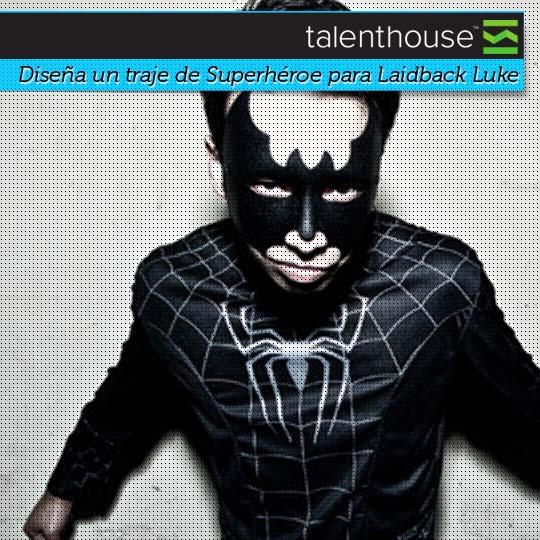 Diseña un traje de Superhéroe para Laidback Luke