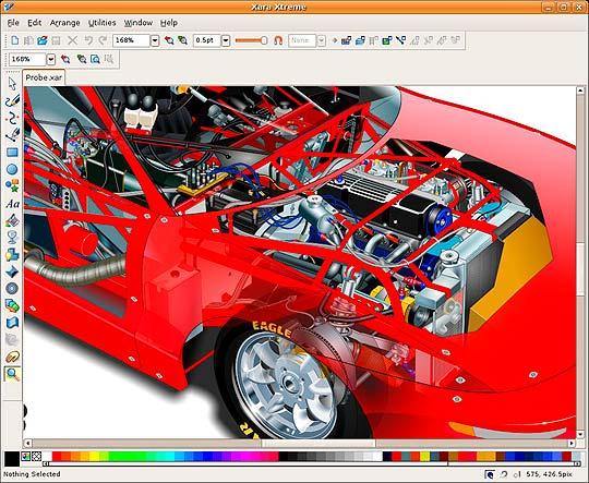 Software libre para diseñadores - Xara Xtreme
