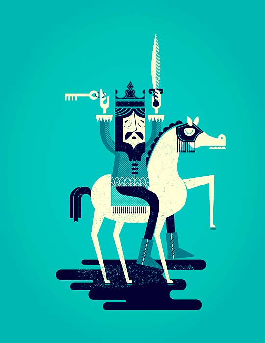 Diseño gráfico y posters minimalistas de ALEX PEREZ