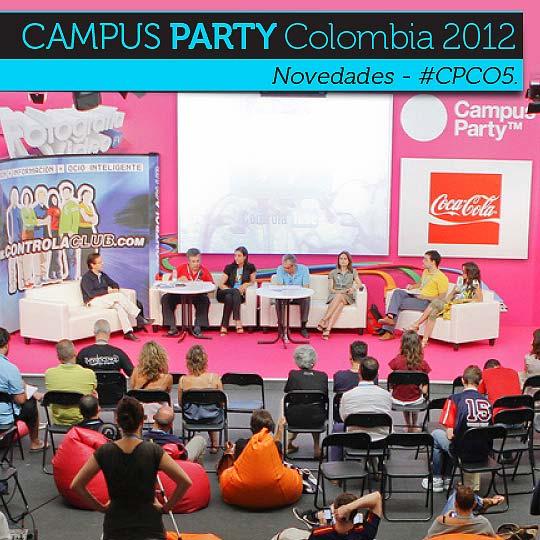 Novedades Campus Party Colombia 2012 - #CPCO5