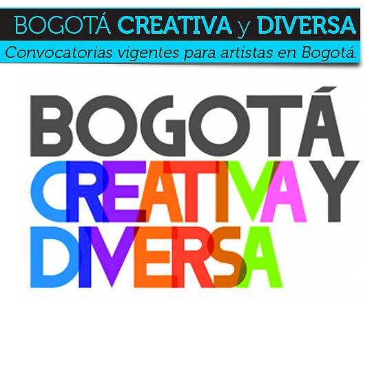Convocatorias vigentes para artistas en Bogotá.
