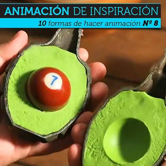 Animación. Diez formas de hacer animación Nº 8