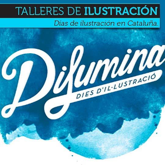 Difumina. Talleres de ilustración en Cataluña (España).