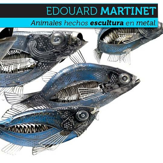 Arte y escultura de EDOUARD MARTINET.