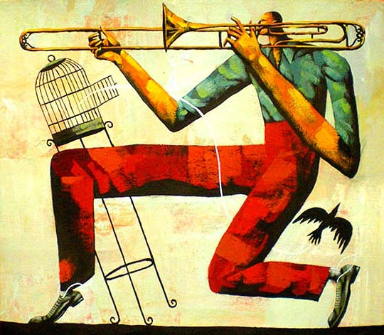 Ilustración. Poesía y música de JOAN NEGRESCOLOR