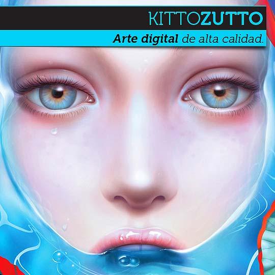 Arte digital de KITTOZUTTO
