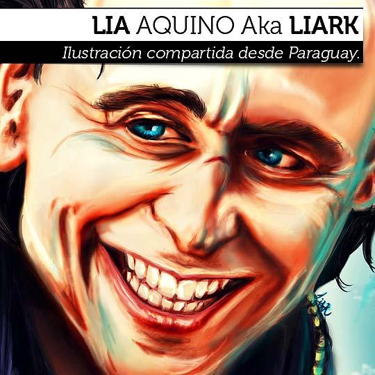 Ilustración de LIA AQUINO Aka LIARK