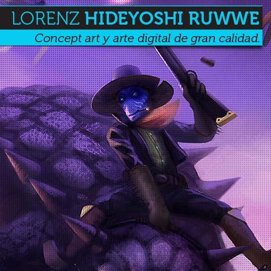 Concept art y arte digital de LORENZ HIDEYOSHI RUWWE