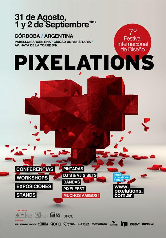 PIXELATIONS. VII Festival internacional de diseño.