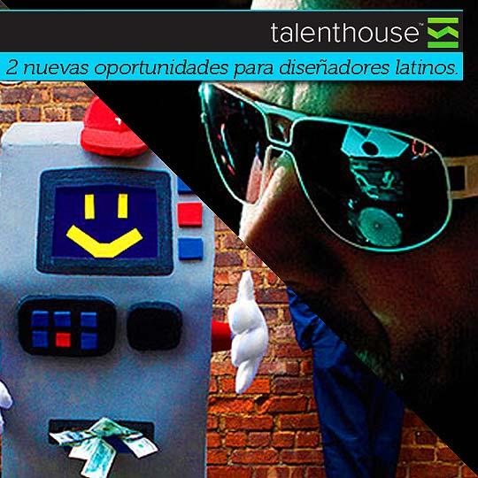 Nuevas convocatorias para diseñadores desde TalentHouse.