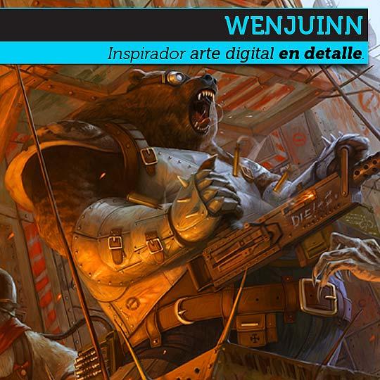 Arte digital e ilustración en detalle de WENJUINN