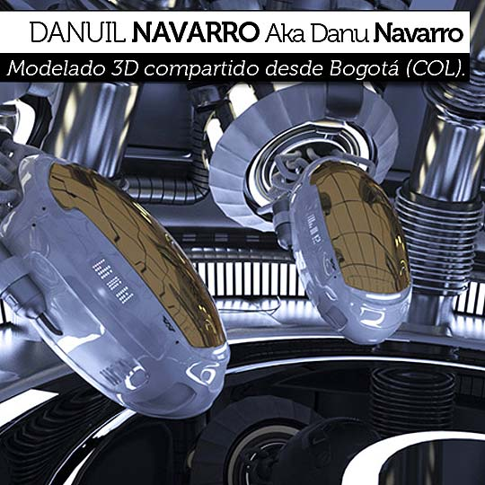 Modelado 3D de DANU NAVARRO
