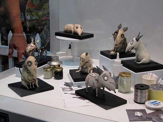 """""""El arte de FRANKENWEENIE"""" de Tim Burton"""